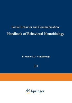 Social Behavior and Communication P Marler