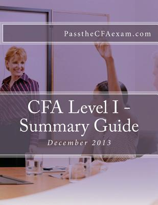 Cfa Level I - Summary Guide K.T. Alozie