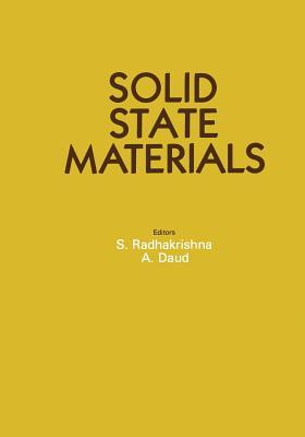 Solid State Materials  by  S Radhakrishna