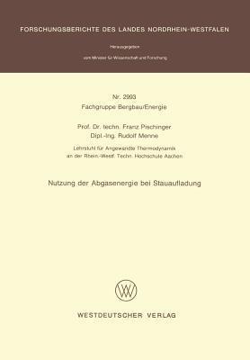 Nutzung Der Abgasenergie Bei Stauaufladung  by  Franz Pischinger