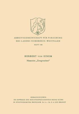 Masaccios Zinsgroschen Herbert von Einem