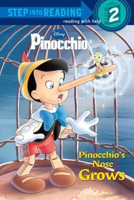Pinocchios Nose Grows (Disney Pinocchio)  by  Barbara Gaines Winkelman