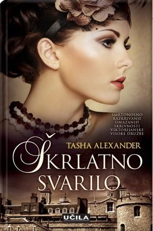 Škrlatno svarilo  (Lady Emily, #6) Tasha Alexander