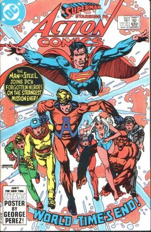 Superman and the Forgotten Heroes!  by  Marv Wolfman