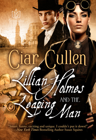 Lillian Holmes and The Leaping Man  by  Ciar Cullen