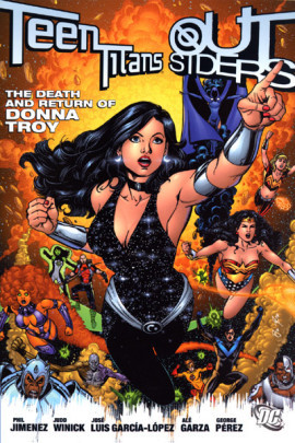 Teen Titans: The Death and Return of Donna Troy  by  Phil Jimenez