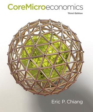 CoreMicroeconomics  by  Eric Chiang