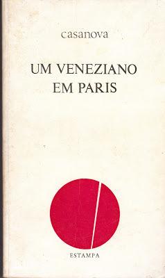 Um veneziano em Paris  by  Giacomo Casanova