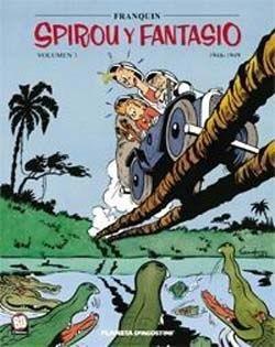 Spirou y Fantasio: 1946-1949 (Spirou Integral #1)  by  André Franquin