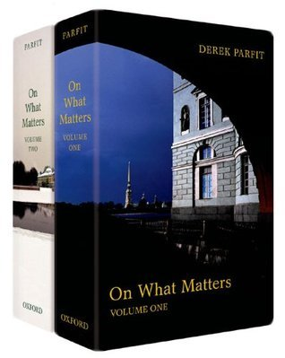 On What Matters  by  Derek Parfit