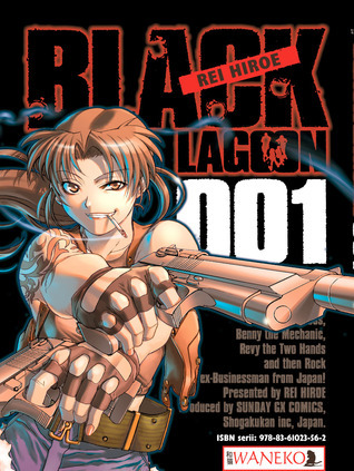 Black Lagoon, tom 1 Rei Hiroe