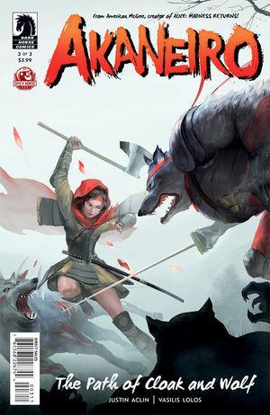 Akaneiro: The Path of Cloak and Wolf (Akaneiro, #3)  by  Justin Aclin