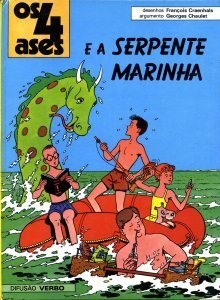 Os 4 Ases e a Serpente Marinha (Os 4 Ases, #2) Georges Chaulet