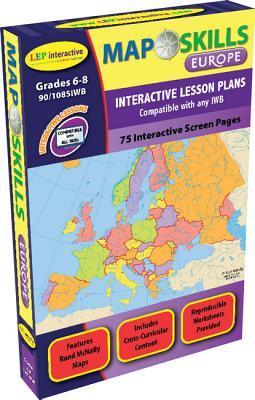 Map Skills: Europe Iwb: Ready-To-Use Digital Lesson Plans  by  Jessica Ashworth