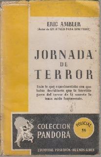 Jornada de terror Eric Ambler