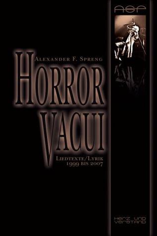 Horror Vacui Alexander F. Spreng