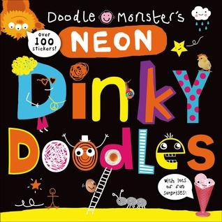 Neon Dinky Doodles  by  Roger Priddy