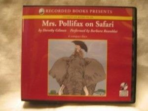 Mrs. Pollifax On Safari Dorothy Gilman