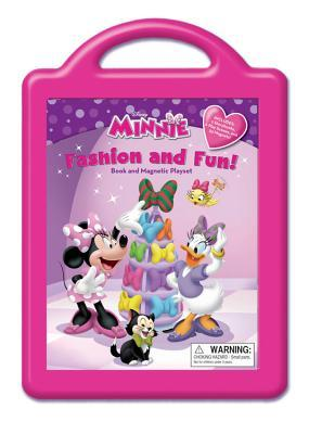 Fashion and Fun: Book and Magnetic Playset Walt Disney Company