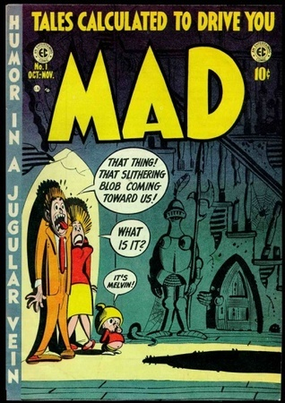 Mad Magazine #1  by  Harvey Kurtzman