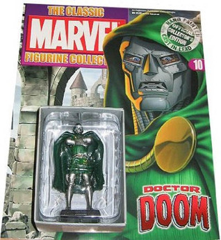 The Classic Marvel Figurine Collection 10 dr Doom Stan Lee