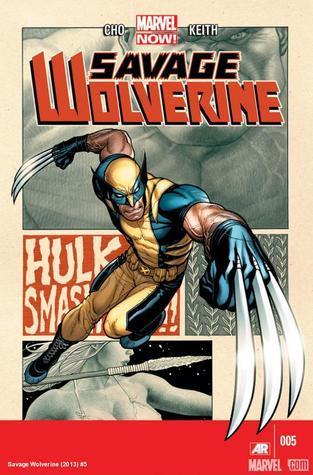 Savage Wolverine #5 (Marvel Now, Savage Wolverine #5) Frank Cho