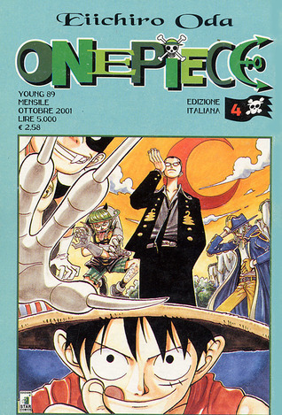 One Piece, Vol. 4  by  Eiichiro Oda