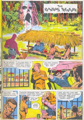 Phantom-The Phantoms Treasure (Indrajal Comics No. 011) Lee Falk