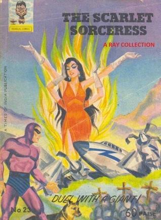 Phantom-The Scarlet Sorceress ( Indrajal Comics No. 023 )  by  Lee Falk