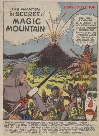 Phantom-The Secret Of Magic Mountain ( Indrajal Comics No. 048 ) Lee Falk