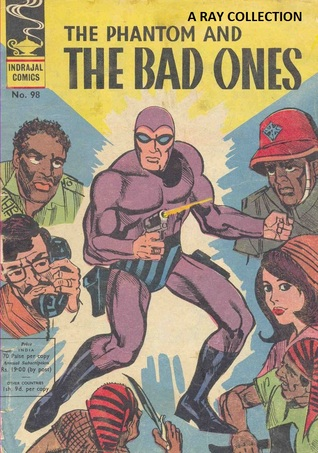 The Phantom And The Bad Ones ( Indrajal Comics No. 098 ) Lee Falk