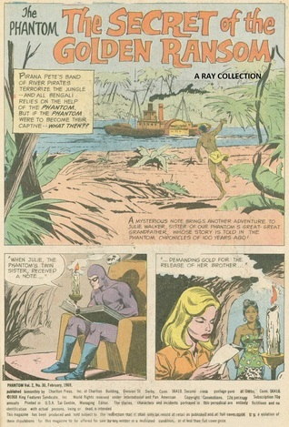 Phantom-Secret Of Golden Ransom ( Indrajal Comics No. 156 ) Lee Falk