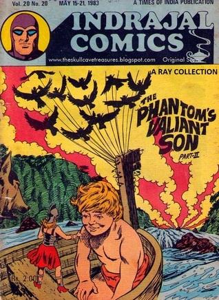 The Phantoms Valiant Son Part II  ( Indrajal Comics Vol 20 No 20 ) Lee Falk