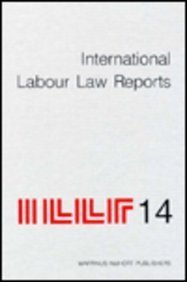 International Labour Law Reports v. 14 Zvi H. Bar-Niv