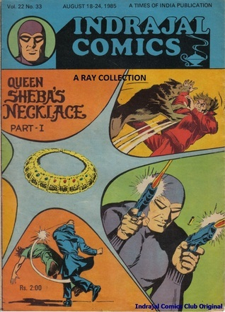 Phantom-Queen Sheebas Necklace Part I ( Indrajal Comics Vol 22 No 33 )  by  Lee Falk