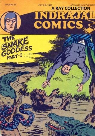 Phantom-The Snake Goddess Part 1 ( Indrajal Comics Vol 25 No 27 ) Lee Falk