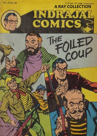 Rip Kirby-The Foiled Coup ( Indrajal Comics Vol 26 No 29 ) Alex Raymond