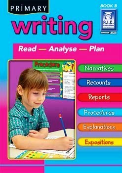 Writing: Read - Analyse - Plan: Year 1  by  R.I.C. Publications