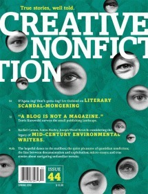 Creative Nonfiction Issue 44 Lee Gutkind