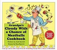 Grandpas Cloudy With a Chance of Meatballs Cookbook Judi Barrett