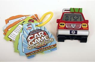 Car Game Countdown  by  Rand McNally
