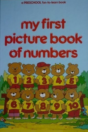 my first picture book of numbers Brian Miles