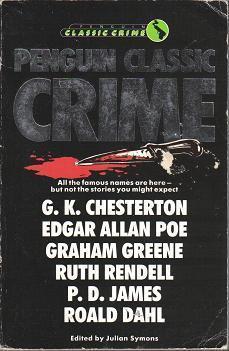 Penguin Classic Crime Julian Symons
