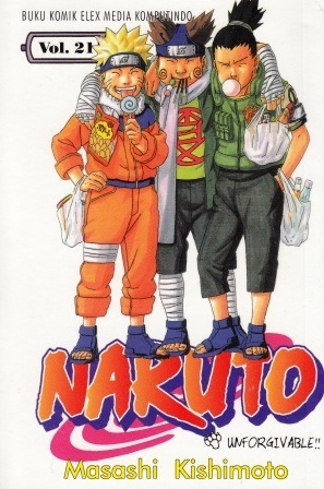 Naruto Vol. 21: Unforgivable!!  by  Masashi Kishimoto