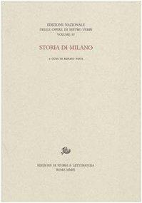 Storia di Milano Pietro Verri