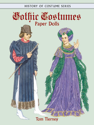 Gothic Costumes Paper Dolls Tom Tierney