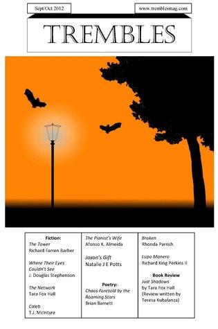 Trembles Horror Magazine Sep/Oct 2012 Gregory Thompson