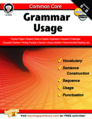 Common Core: Grammar Usage  by  Linda Armstrong