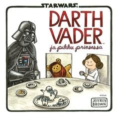 Darth Vader ja pikku prinsessa  by  Jeffrey Brown