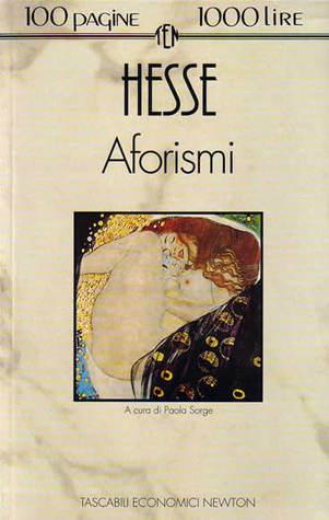 Aforismi  by  Hermann Hesse